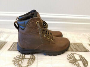 MEN'S TIMBERLAND BROWN LEATHER BOOTS - BRAND NEW!!