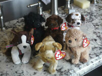 TY puppy collection - $5 each