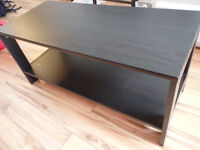 """Black wooden TV stand 31.5"""" x 14"""" x 14.5"""""""
