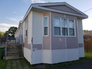 Maison mobile à déménager à vendre