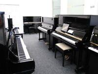 Ymaha U3 Upright Piano Black warranty & Stool