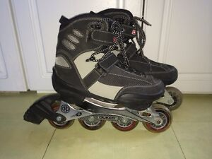 Dukes 540 high performance rollerblades with aluminum frame
