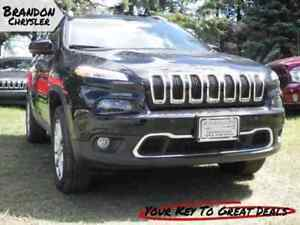 2017 Jeep Cherokee Limited - Navigation, Uconnect, 8.4 Inch Touc