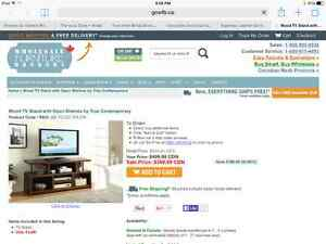 New tv stand / entertainment console St. John's Newfoundland image 2