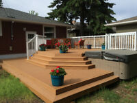 Decks, Fences, Pergolas, Siding, Roofing, Window/Doors FINANCING