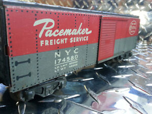 Marx Pacemaker Freight Service NYC 174580 Model Train Car