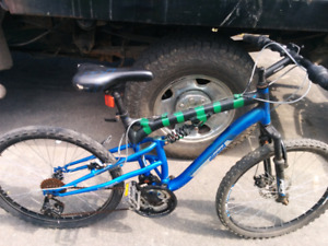 Wicked full suspension mountain bike