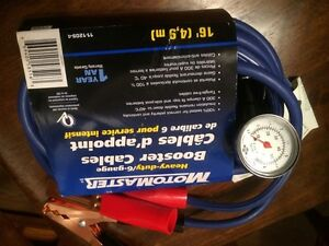 Motormaster  Booster Cable  with Air Pressure, Brand New Edmonton Edmonton Area image 5