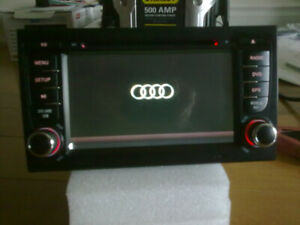 audi a4 s4 indash hd touchscreen gps bluetooth radio dvd player