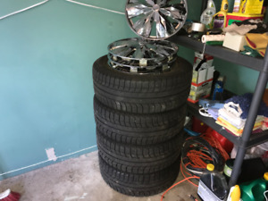 4 Winter Michelin X Ice Winter Tires in Excelent Condition