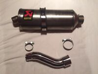 Akrapovic Exhaust for Honda CBR500R