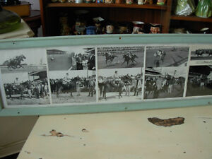 1959-60 Collage of B&W Fort Erie Horse Racing Cambridge Kitchener Area image 3