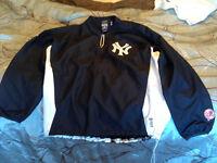 Men's NY Yankees Athletics jackets size L sold separately