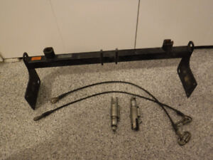 Blue Ox baseplate for Jeep Wrangler