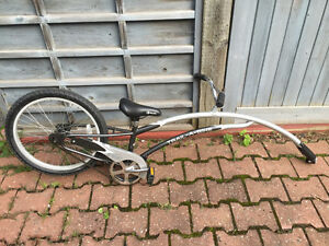 Bike attachment to adult bike  for kid