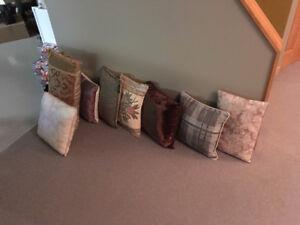 Lot de coussins décoratifs