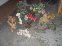 LOTS OF FISH TANK DECORATIONS FOR SALE,,,