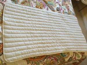 Crib Mattress Pad Cambridge Kitchener Area image 3