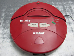 ASPIRATEUR IROBOT ROOMBA RED