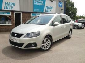 2013 Seat Alhambra 7 SEATS 2.0TDI ( 140ps ) 2013MY SE Lux DIESEL ESTATE 43K