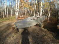 14 foot aluminum boat**SOLD PPU**