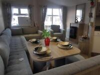 Brand new luxury static 6 berth caravan on the stunning Ayrshire coast