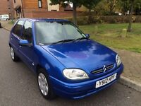Citroen saxo 1.1 Petrol one year mot full service history good conditions low mileage