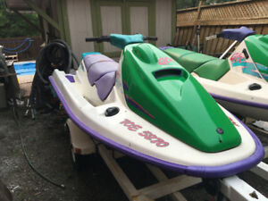 Pair of 1994 Seadoo's with Double Trailer $3100 OBO