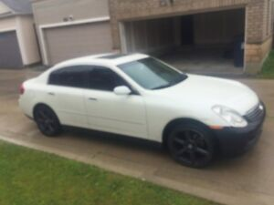 2004 G35x awd..UP FOR SALE