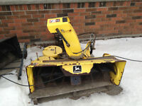 John Deere 42in Snow Blower for Lawn Tractor