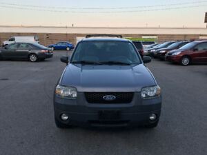 2007 Ford Escape. CERTIFIED, E TESTED  , WARRANTY, NO ACCIDENT