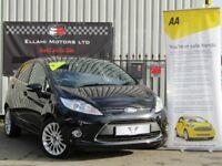 Ford Fiesta 1.6 TITANIUM (black) 2012