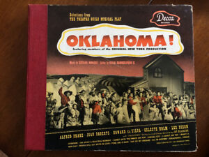 78 rmp book set of Oklahoma the musical