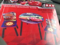 Brand new Disney table and chairs set