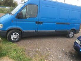 Man & van/removals/pet transportation reliable service good rates