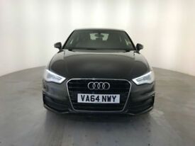 2015 AUDI A3 S LINE TDI DIESEL 1 OWNER AUDI SERVICE HISTORY FINANCE PX WELCOME