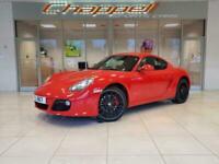2010 Porsche Cayman 3.4 S PDK (Gen II) + Nav + Spt Chrono COUPE Petrol Semi Auto