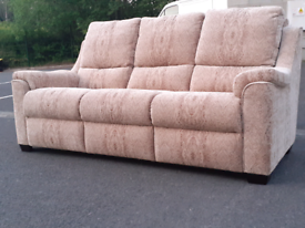 Parker Knoll Fabric 3 Seater Sofa