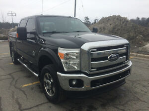 2011 Ford F-350 Black Pickup Truck