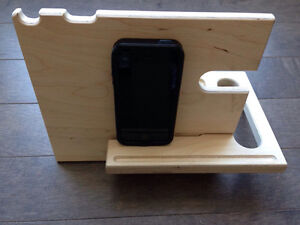 iPhone accessories stand