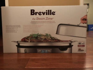 Breville BFS800BSS The Steam Zone Food Steamer, Brushed Stainles