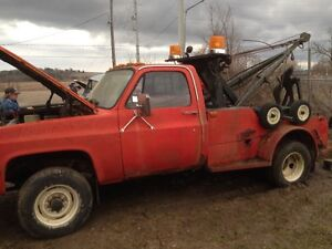 1987 GMC Pickup Tow truck Barn Find trades