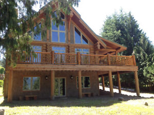 Shuswap Log Cabin
