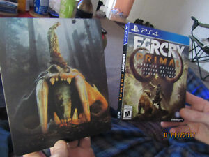 Far Cry Primal Deluxe Edition PS4- Mint Condition in Steel Case Kitchener / Waterloo Kitchener Area image 1