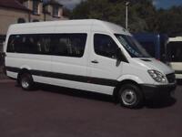 MERCEDES SPRINTER 515 17 SEAT WHEELCHAIR ACCESSIBLE MINIBUS COIF TACHO PSV A/C