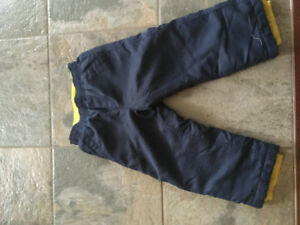 Fleece Lined Pants  - light  snowpants
