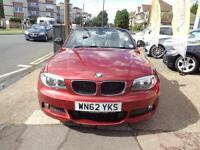 BAD CREDIT CAR FINANCE AVAILABLE 2012 62 BMW 118d SPORT PLUS CONVERTIBLE