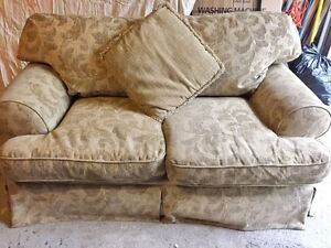 Free 2 piece sofa set - 3 seater and love seat