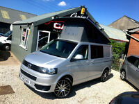 VOLKSWAGEN TRANSPORTER T30 CAMPER MOTORHOME LOW MILEAGE FINANCE & PARTX