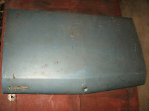 1969 Chevelle/Beaumont trunk lid, good condition, sell or trade
